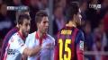 Sevilla FC vs FC Barcelona 1:4 - Primera Division
