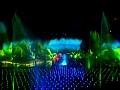 World of Color - Nocne show w Disneylandzie - Projekcja na wodnym ekranie