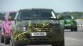 Range Rover Evoque - parada prototypów kończąca oficjalne testy